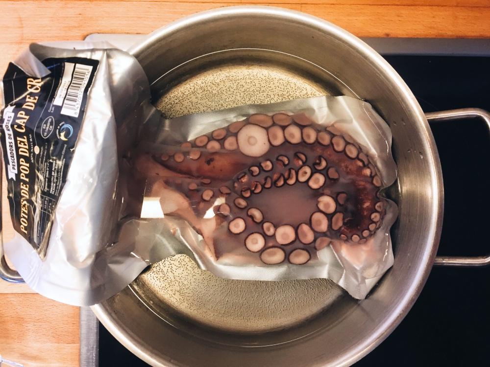 Pulposalat: Oktopus vakuumisiert