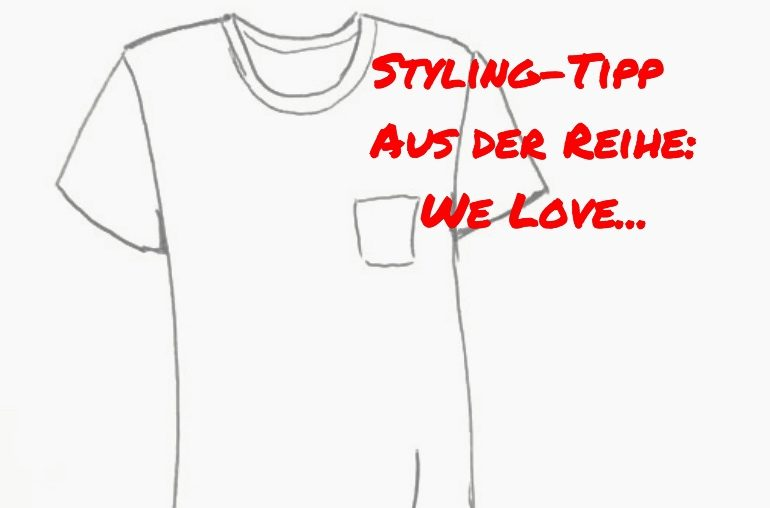 Weißes T-Shirt: Eine Liebeserklärung  – Teil 1