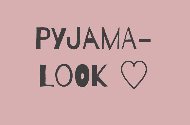 Verliebt in den Pyjama-Look: Hier sind meine 3 liebsten Kombinationen!