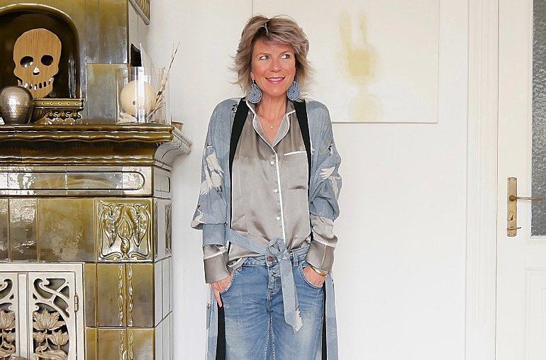 Durchaus straßentauglich: Der Pyjama-Look Berliner Art