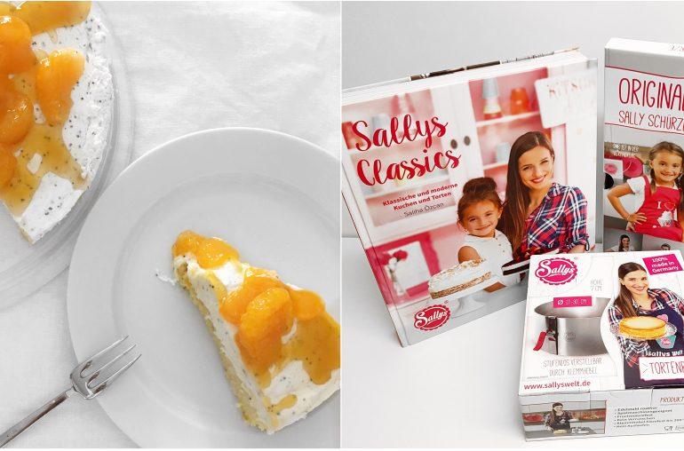 Sallys Mandarinen Quarktorte – Rezept und Gewinnspiel