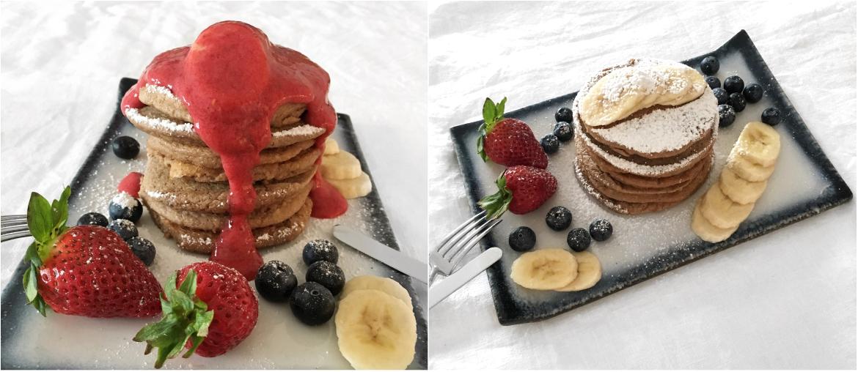 gesunde und leckere pancakes ohne zucker und mehl fourhang auf. Black Bedroom Furniture Sets. Home Design Ideas