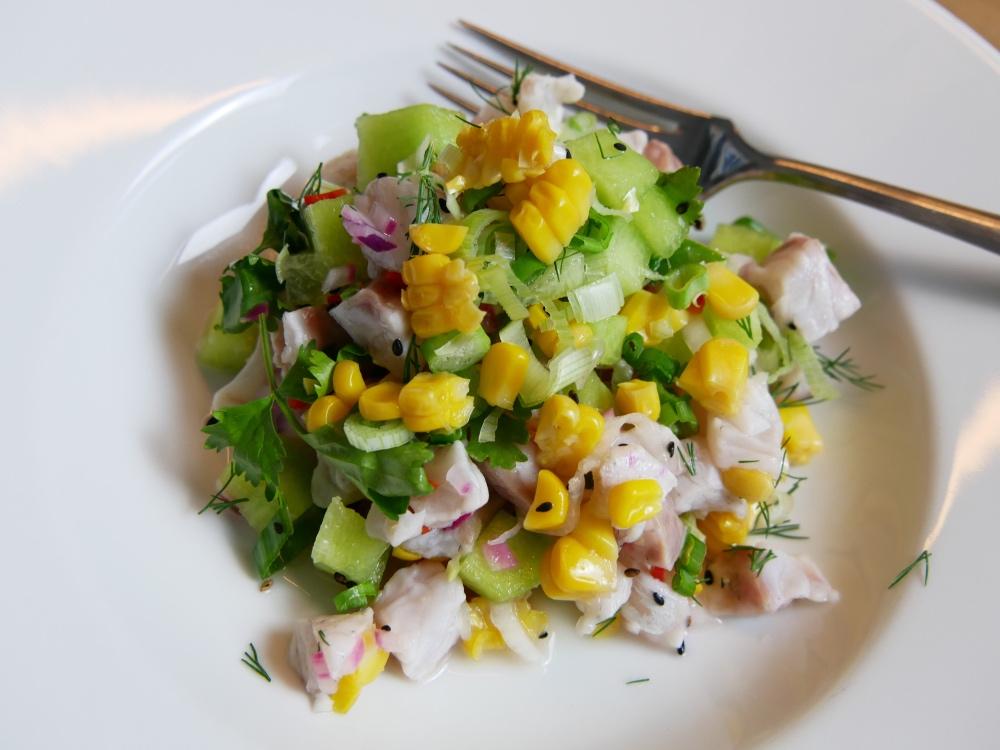 Ceviche: Mit Wolfsbarsch und Honigmelone