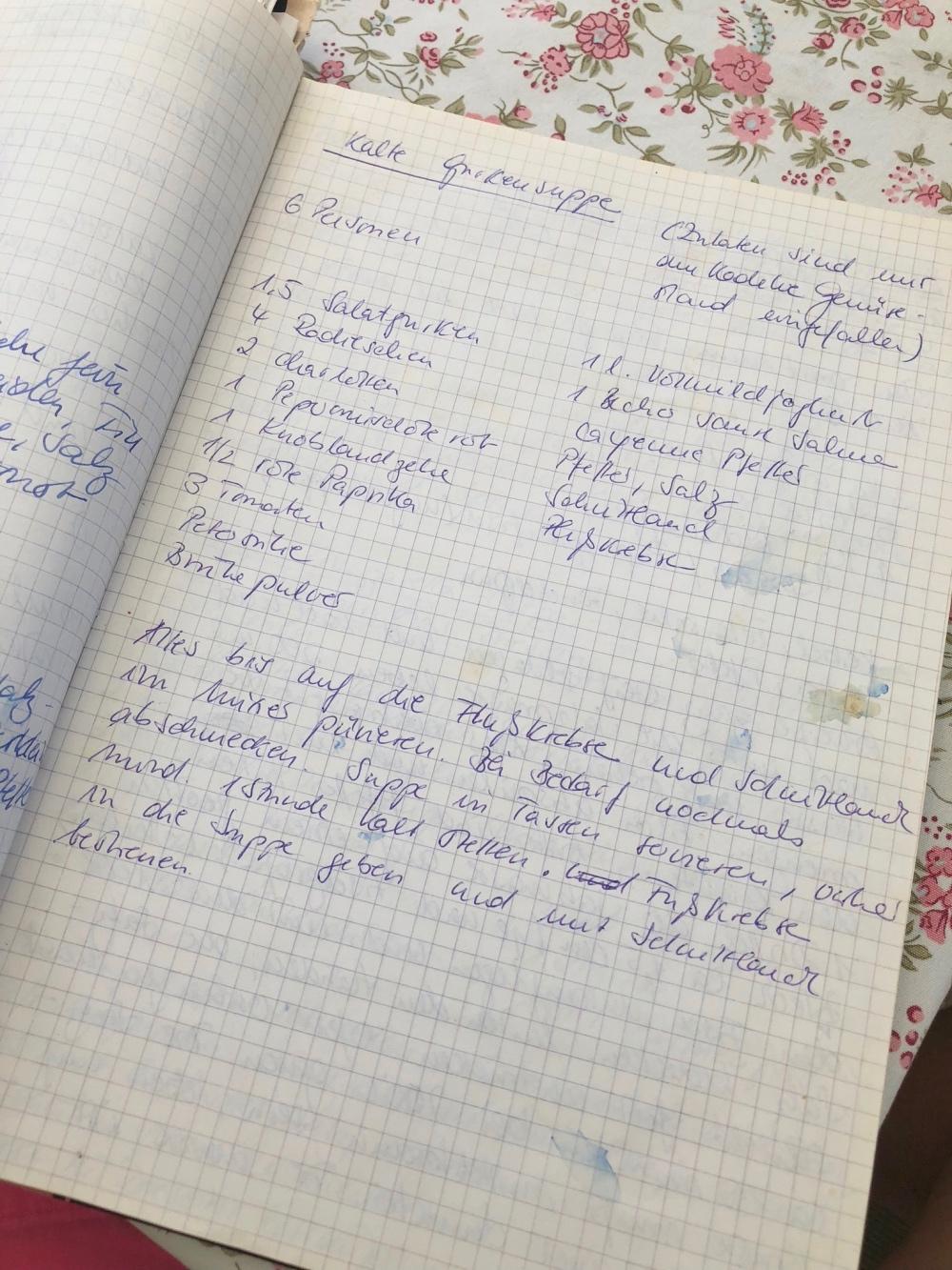 Kalte Gurkensuppe: Originalrezept