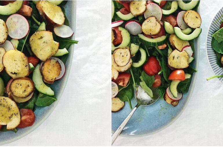 Schneller Brezelsalat: Perfekter Sommersalat