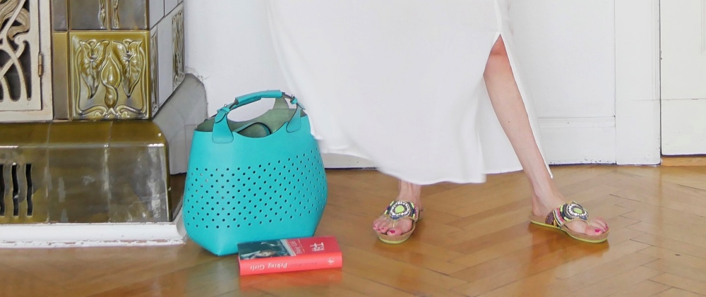 Strandoutfit: Strandtasche