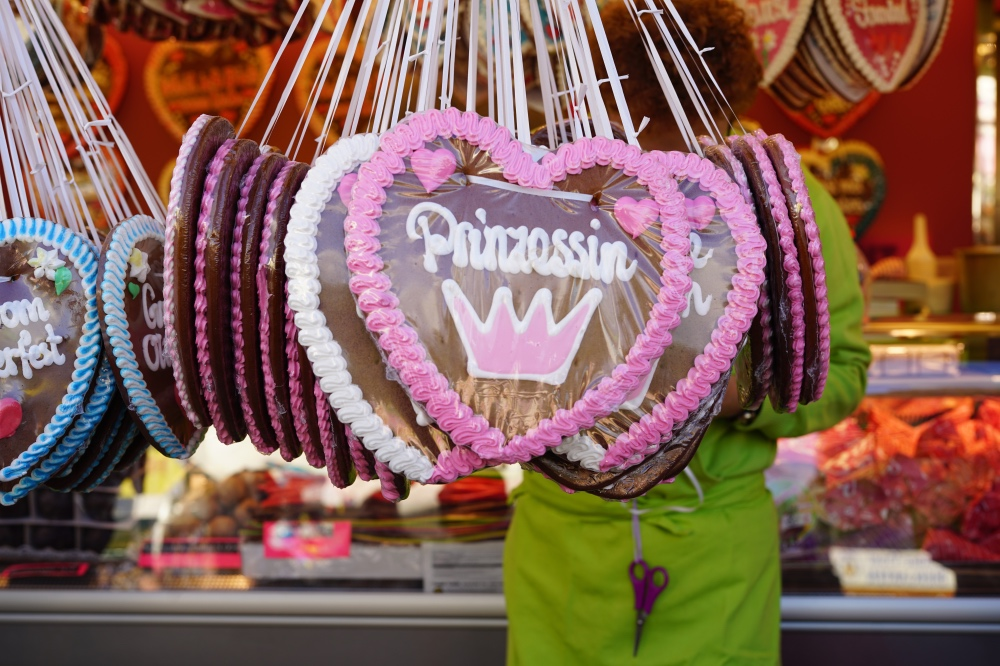 Wiesn-Gaudi: Lebkuchenherz