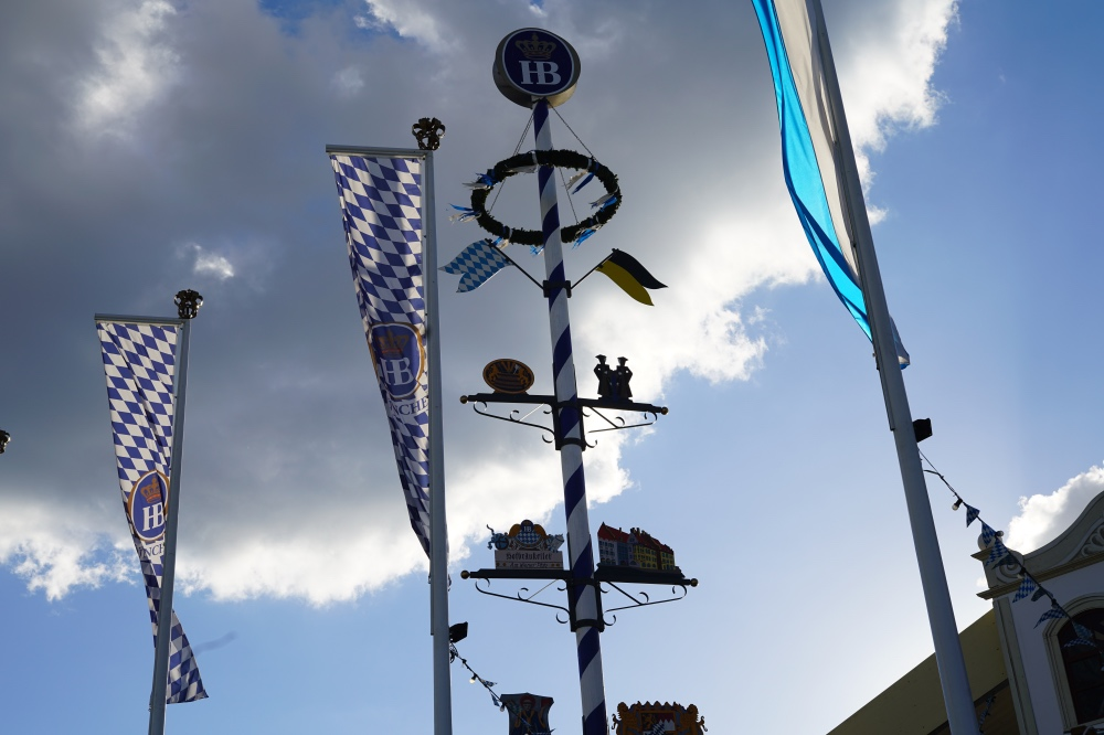 Wiesn-Gaudi: Weissblauer Himmel!
