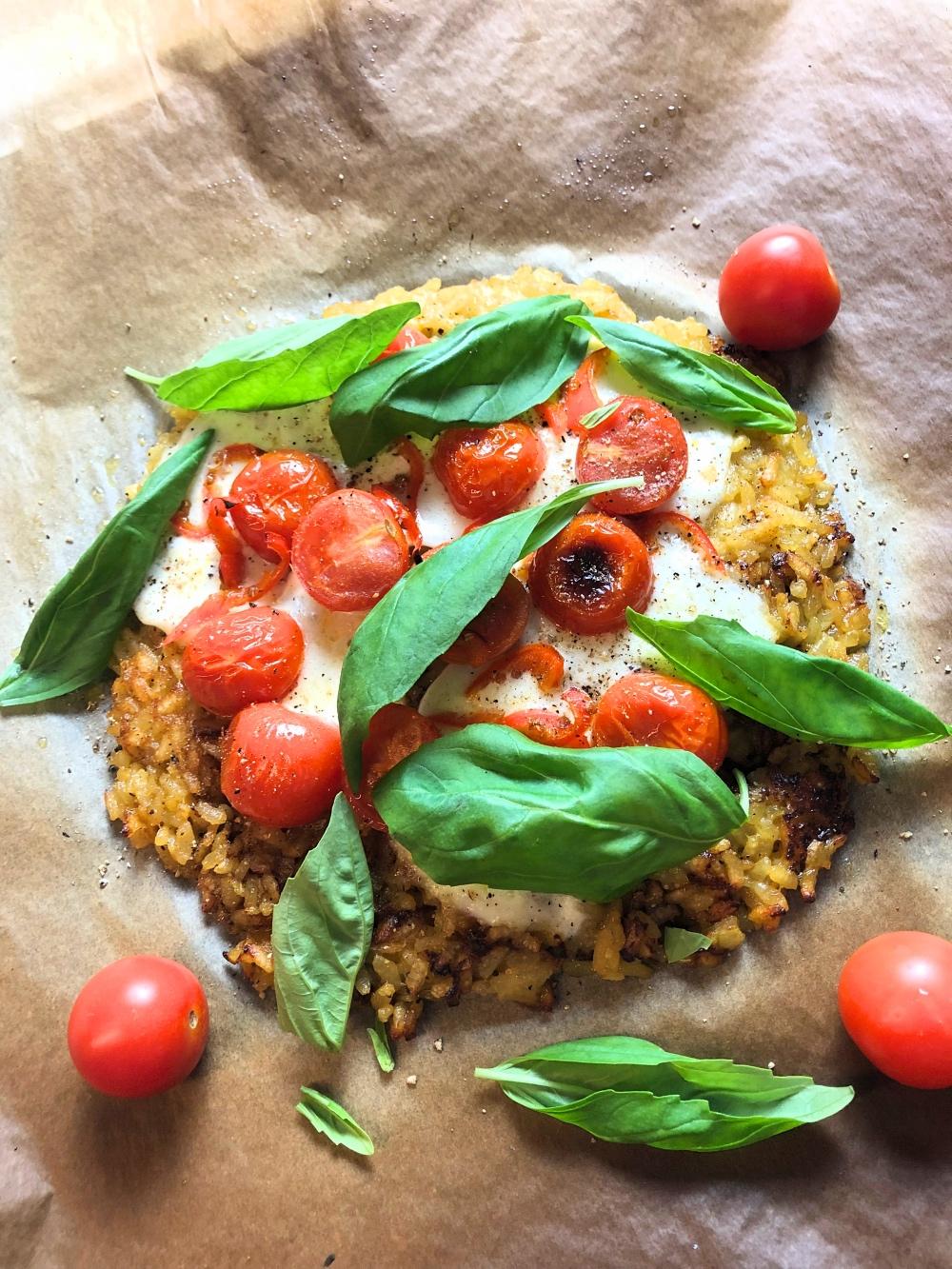 Risotto-Pizza: Wenn das Blech auf den Tisch kommt!