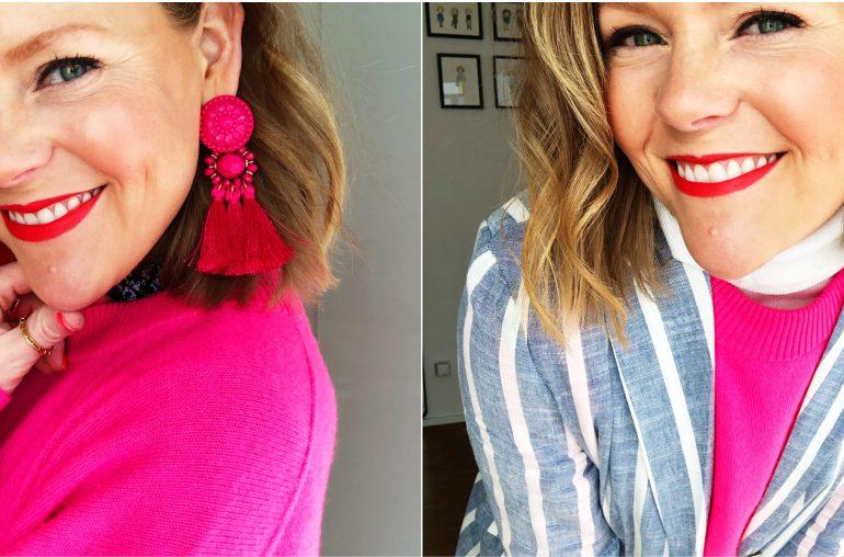 Neon-Pullover drei Mal gestylt – So tragt ihr Neon heute!