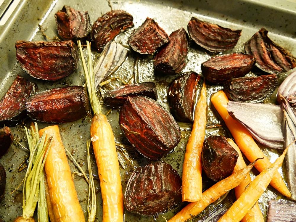 Rote Bete aus dem Ofen: Gemüse aus dem Ofen
