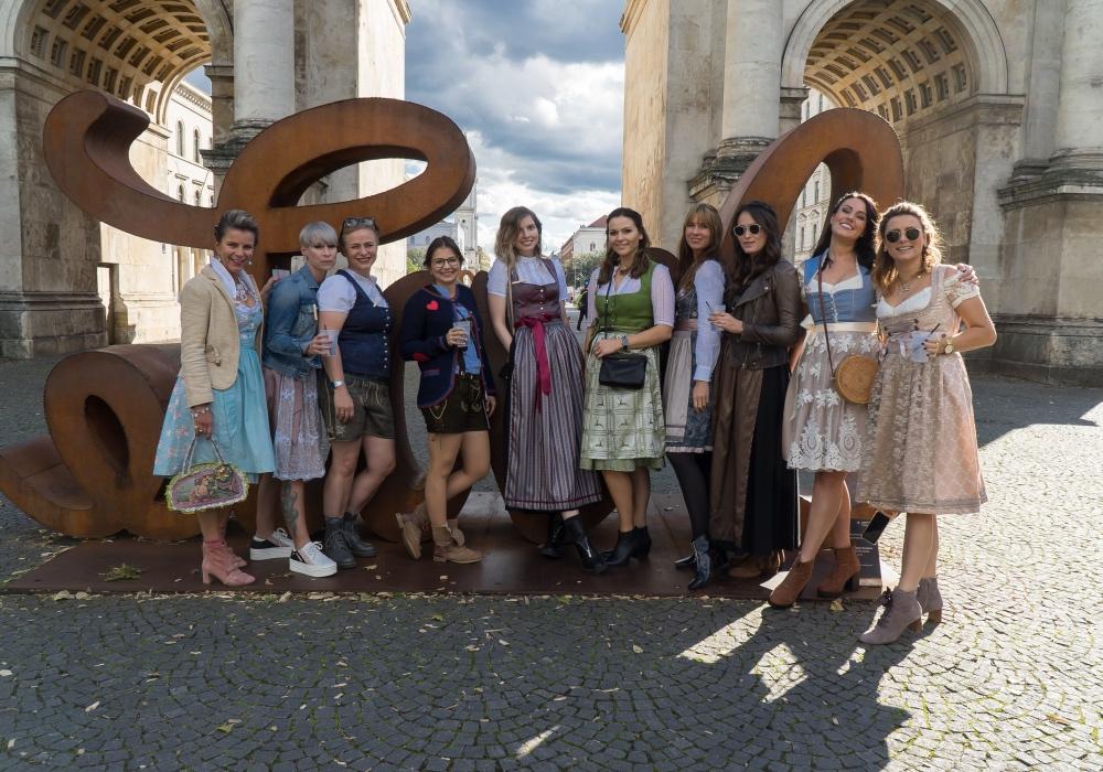 Wiesn-Gaudi: Influencer-Event Oktoberfest