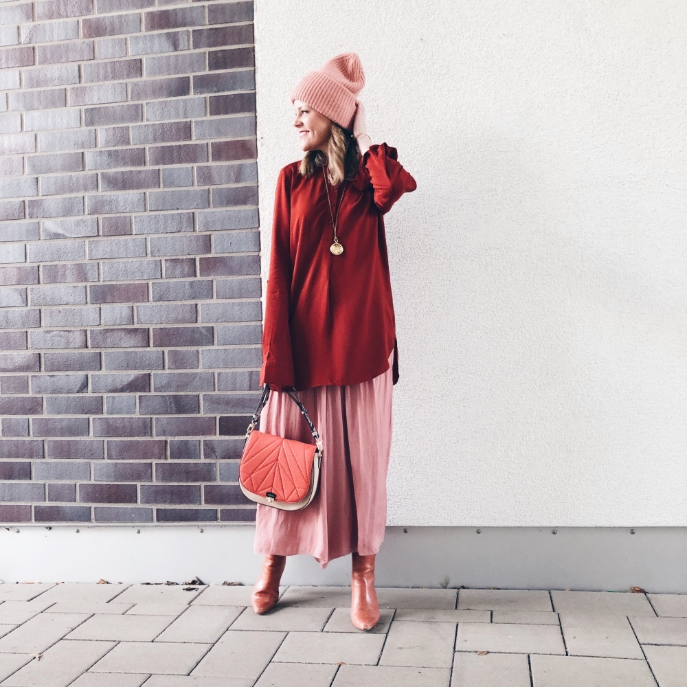 Trendfarbe Rot: Rosa meets Bordeaux