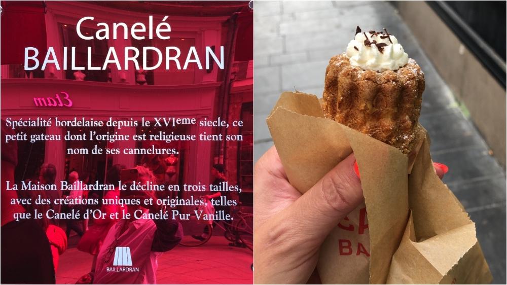 Kurztrip nach Bordeaux: Canelé Baillardran. Ein MUSS!