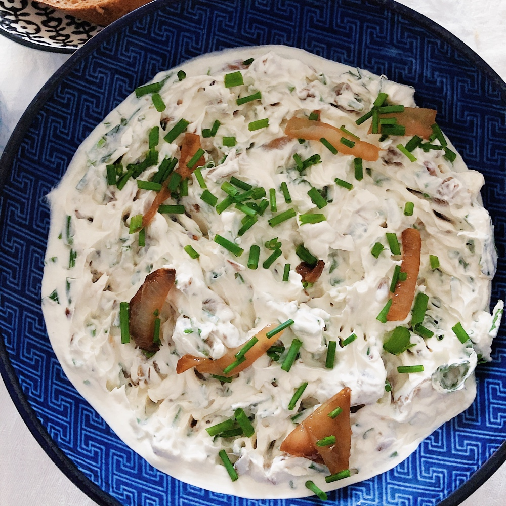 French Onion Dip - verdammt cremig und superlecker!
