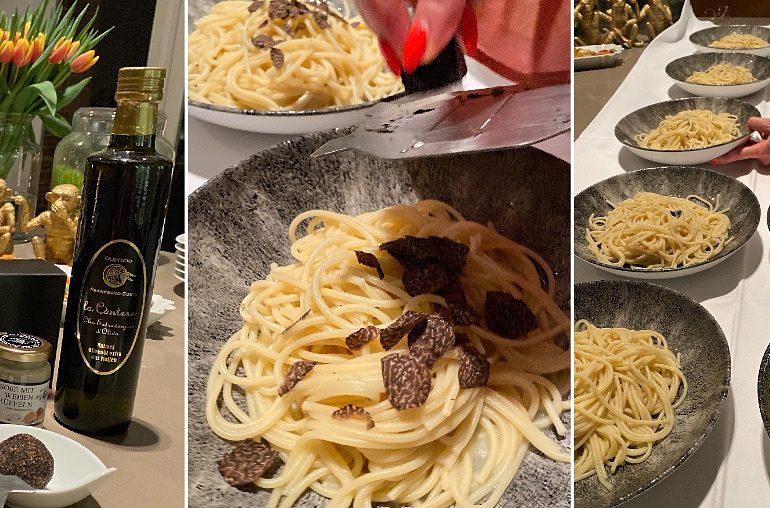 Trüffel-Spaghetti: Das Originalrezept alla Mamma
